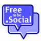 Free to be Social Ad